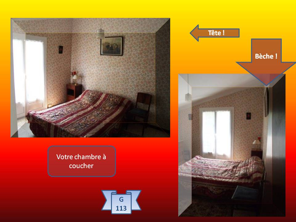 gite rural artigues la desidere 113 chambre parents